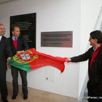 Inauguração de nova ala no Centro Paroquial de Assistência do Reguengo do Fetal