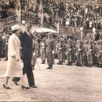 Visita da Rainha Isabel I
