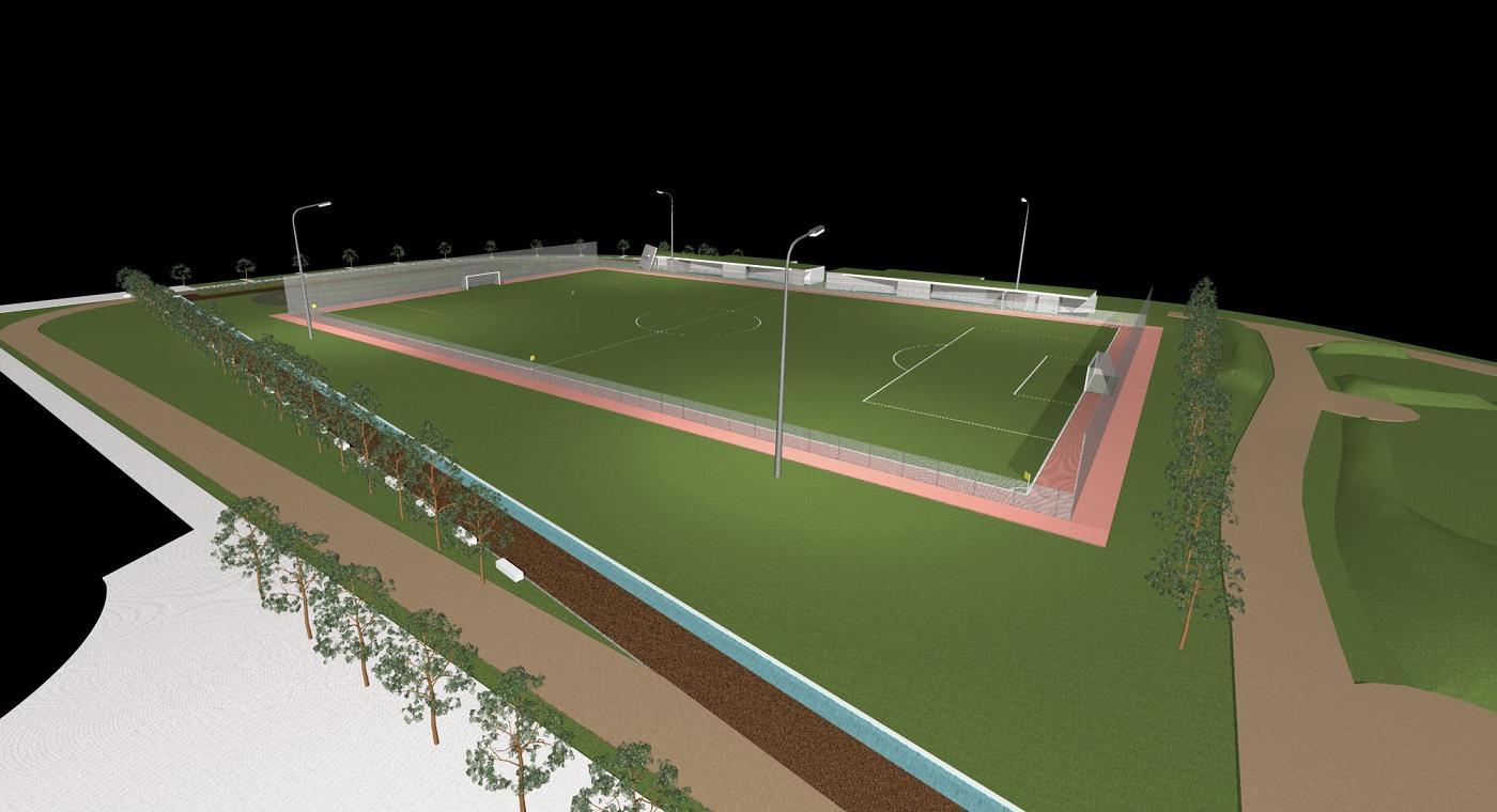 Balneários do Campo de Futebol Sintético - Zona Desportiva da Batalha