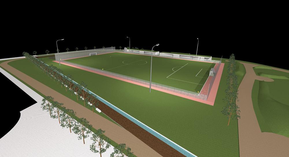 Campo de Futebol Sintético - Zona Desportiva da Batalha