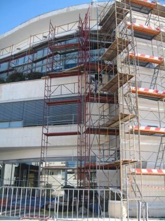 Beneficiação de Edifício da Autarquia (Reabilitação e Conservação) - Reabilitação de Revestimentos das fachadas do Edifício dos Paços do Município